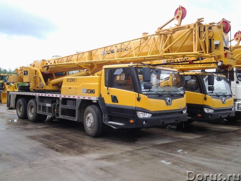 Аренда автокрана 25 тонн 38(47) метров - Сельхоз и спецтехника - Модель: XCMG QY25 Год выпуска: 2012..., фото 1