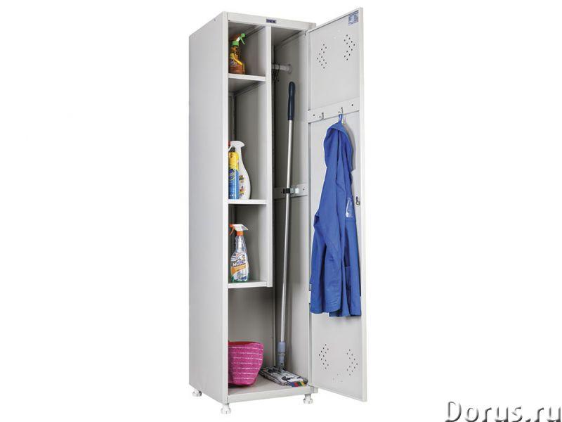 Шкаф металлический для одежды - Офисная мебель - Шкаф металлический для одежды, всегда в наличии на..., фото 3