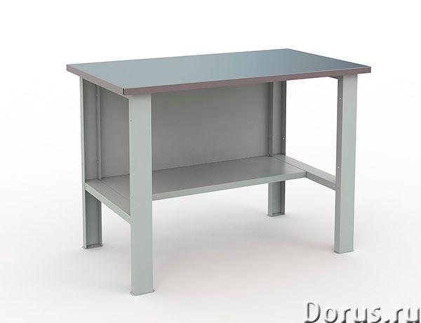 Стол слесарный - Промышленное оборудование - Стол слесарный с нагрузкой до 300 кг. Столешница 1200х7..., фото 1
