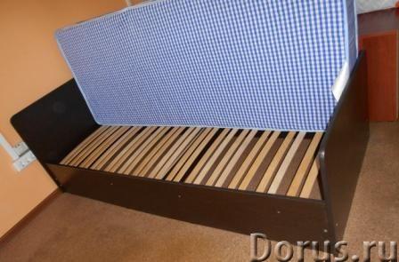 Кровать+пружинный матрас - Мебель для дома - Продаю кровать новая в упаковке и пружинный матрас новы..., фото 3