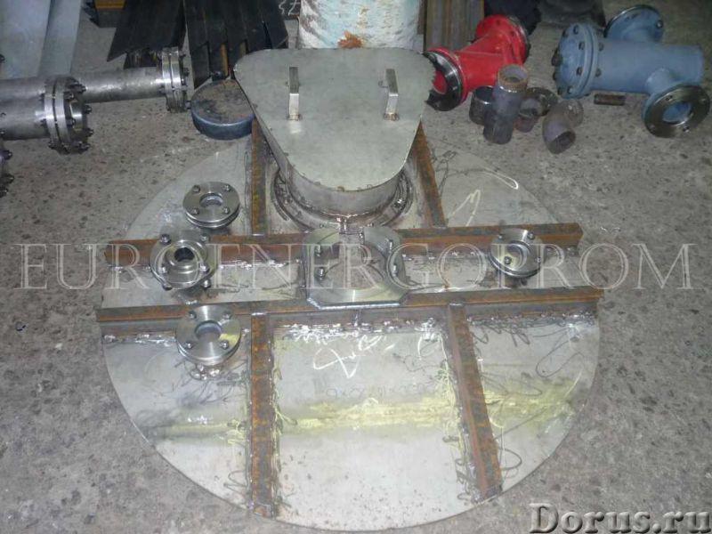 Крышки плоские люков стальных сварных сосудов и аппаратов ОСТ 26-2008-83 - Промышленное оборудование..., фото 1