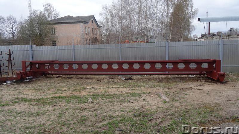Кран-балки гп 2-8тн тельфера гп-0, 25-5тн, консоли - Промышленное оборудование - Кран-балки опорные..., фото 1